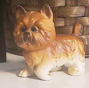 Vintage porcelain Terrier Figurine
